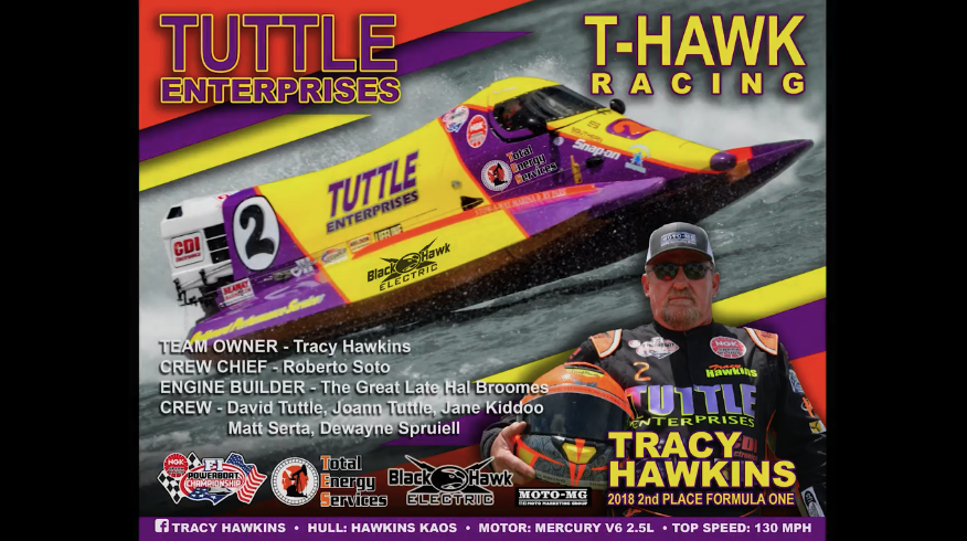 Saying Good Bye to NGK F1's Tracy Hawkins, A True Champion