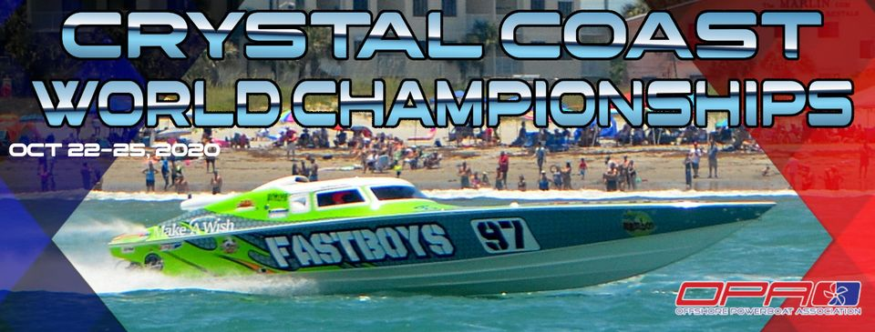 2020 OPA World Championships Heads North to Crystal Coast